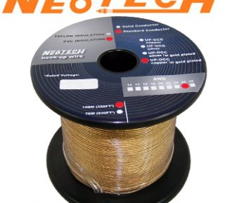 Neotech GP-OCG-24: Gold Plated Copper Wire